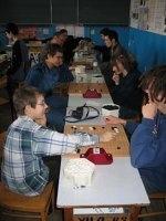 Pierwszy turniej w VILO, 19 lutego 2005